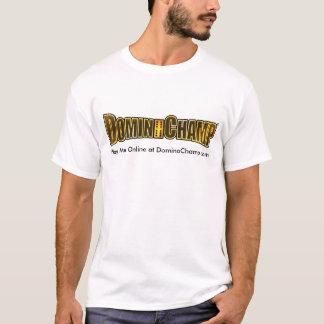 Camiseta Jogue-me em linha em DominoChamp.com