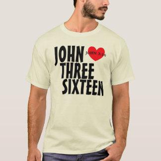 Camiseta john 3 16