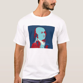 Camiseta John Adams patriótico