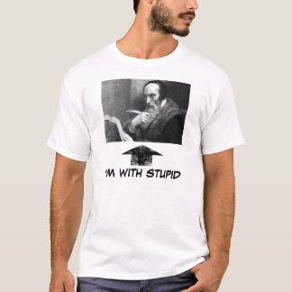 Camiseta john-calvin-com-book, widearrow, eu sou COM