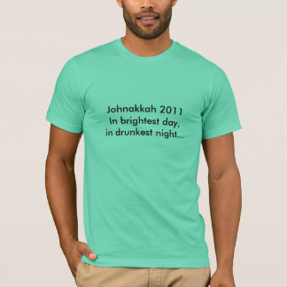 Camiseta Johnakkah 2011: Juramento da lanterna!