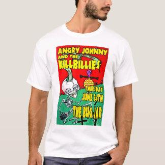 Camiseta Johnny irritado & o Killbillies @ o frasco do