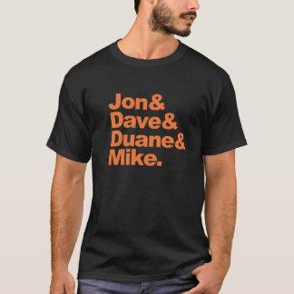 Camiseta Jon&Dave&Duane&Mike.