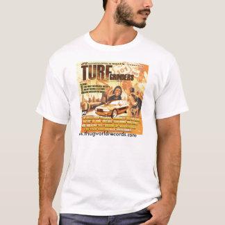 Camiseta jonez de Jill dos moedores do relvado do cobrir