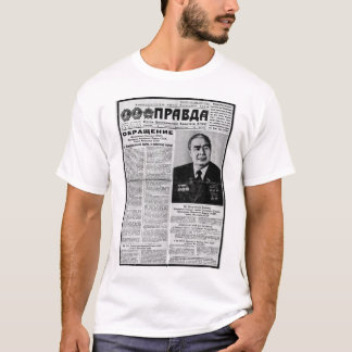 Camiseta Jornal de Pravda