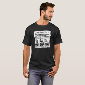Camiseta Jornal dos reféns WM3