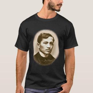 Camiseta Jose Rizal (impressão do Sepia)