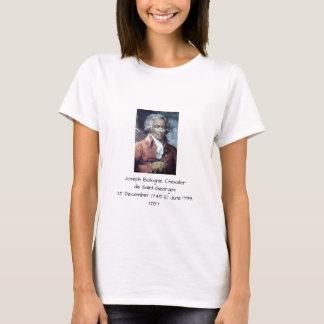 Camiseta Joseph Bologne, Cavaleiro de Santo-Georges