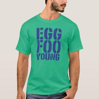 Camiseta Jovens do foo do ovo de CRAZYFISH