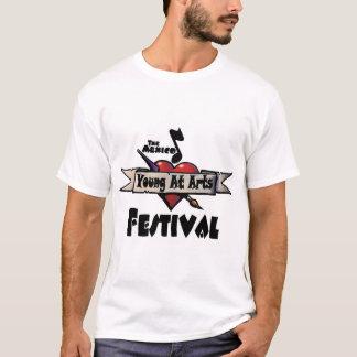 Camiseta Jovens no T do festival de artes