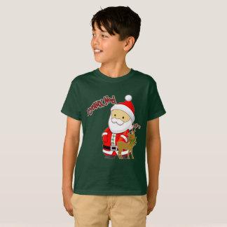 Camiseta Joyeaux Noel caçoa o t-shirt do Natal