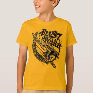 Camiseta Ju 87 caçoou o t-shirt do t-shirt do ツョ de Hanes
