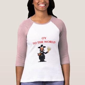 Camiseta judaico