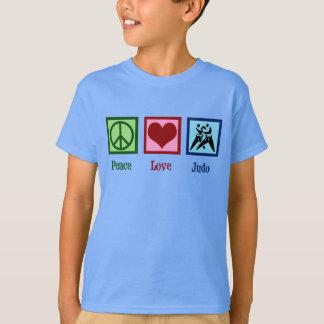 Camiseta Judo do amor da paz