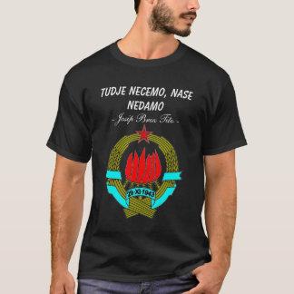 Camiseta Jugoslávia representa