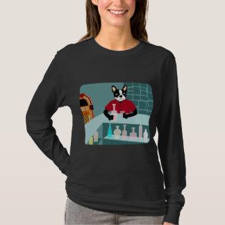 Camiseta Jukebox do uísque de Boston Terrier