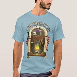 Camiseta Jukebox Rockaholic engraçado