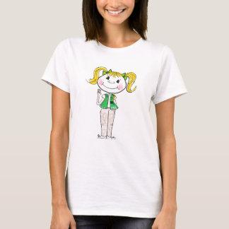 Camiseta Júnior da escuteira que mantem a promessa
