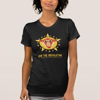 Camiseta Junte-se à revolução - mulheres