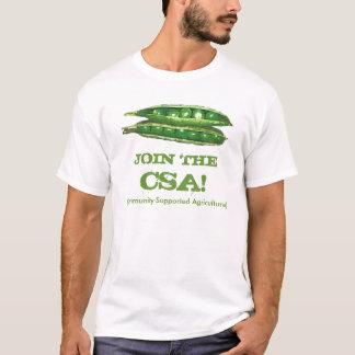 Camiseta Junte-se ao t-shirt de CSA