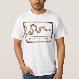 Camiseta Junte-se ou morra-se americana do vintage