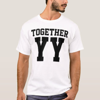 Camiseta Junto desde o aniversário de casamento (JUNTO)