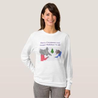 Camiseta Junto para os feriados!