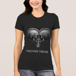 Camiseta Junto para sempre t-shirt escuro