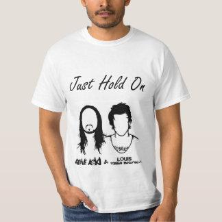 Camiseta Just Hold ele Aoki