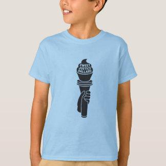 Camiseta Justiça doce caçoa o t-shirt