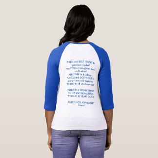 Camiseta JUSTIÇA PARA John Avery