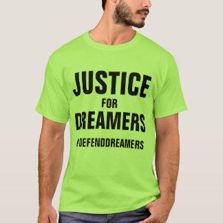 Camiseta Justiça para o t-shirt do apoio de Daca dos