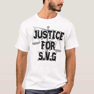 Camiseta Justiça para S.V.G