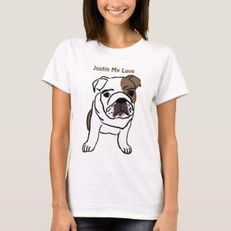 Camiseta Justin meu amor