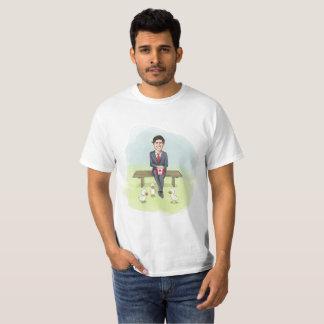 Camiseta Justin Trudeau que desperdiça dinheiros