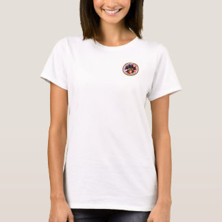 Camiseta K9 para a liberdade & o T das mulheres cabidas
