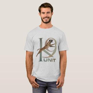 Camiseta K-9 unidade - unidade Malinois do cão de polícia