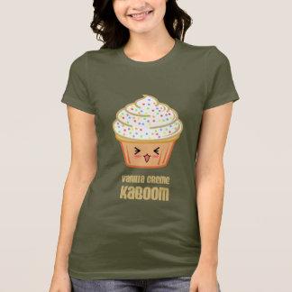 Camiseta kaboom do creme da baunilha