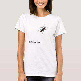 Camiseta Kafka estava aqui…