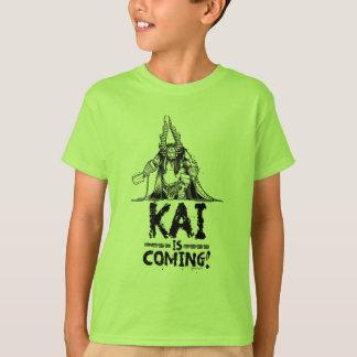 Camiseta Kai está vindo!