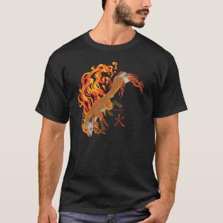 Camiseta Kaius o Fox, guardião do t-shirt escuro dos homens