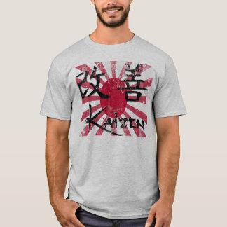 Camiseta Kaizen - estilo retro
