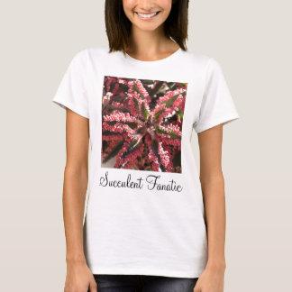 """Camiseta Kalanchoe """"borboleta voa"""" o t-shirt das senhoras"""