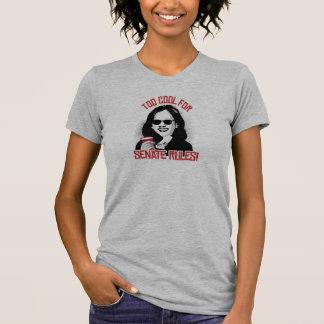 Camiseta Kamala é demasiado legal para regras do Senado -