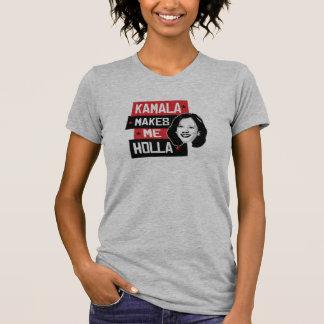Camiseta Kamala faz-me o Holla -