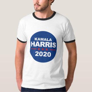 Camiseta Kamala Harris 2020 - azul da etiqueta -