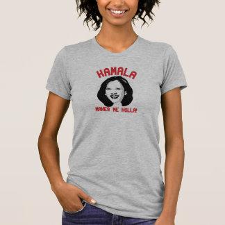 Camiseta Kamala Harris faz-me o Holla -