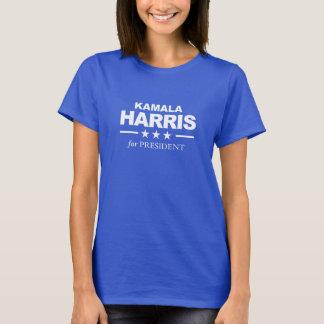 Camiseta Kamala Harris para o presidente - branco -