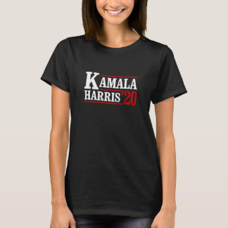 Camiseta Kamala Harris para o presidente em 2020 - branco -