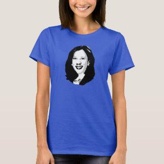 Camiseta Kamala Harris para o presidente Retrato -